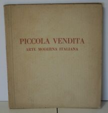 Piccola vendita arte moderna italiana 1927 Galleria Scopinich - Rizzoli - U006