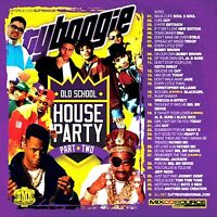 DJ TY Boogie Old School House Party 2 Classic Throwback PROMO Mixtape MIX CD