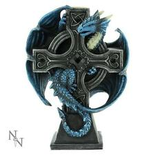 NEMESIS NOW ANNE STOKES DRACO CANDELA DRAGON CANDLE HOLDER Gothic/Celtic/Legend