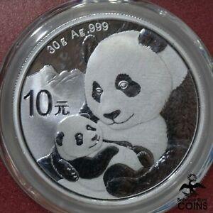 2019 China 10 Yuan PANDA 1oz Silver .999 Coin Red Slab PCGS MS70 FIRST STRIKE!