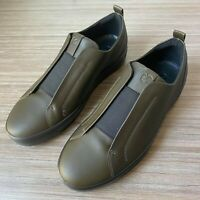 ECCO Soft 8 Men's Slip on Sneakers size 46 US 12-12.5 $200 Shoes Grapeleaf