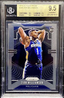 Zion Williamson 2019-20 Panini Prizm Base Rookie TRUE GEM Quad 9.5's BGS 9.5