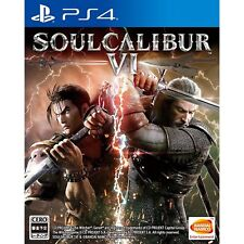 Bandai Namco Games SoulCalibur VI SONY PS4 PLAYSTATION 4 JAPANESE VERSION