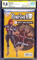 Punisher 13 CGC 9.8 SS Amazing Spiderman 129 Homage Sign Stan Lee Romita Conway