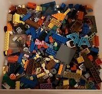 Lego Genuine Mixed Bundle Of Lego Bricks Parts Pieces500g see description