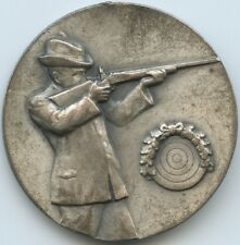 GX1027 - Schützenmedaille II.Mann. Osterschiessen 35. Hainholz 08. in Silber