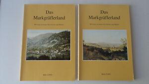 2 Hefte-Das Markgräflerland-Beiträge zu seiner Geschichte u.Kultur-Heft 1-2-1995