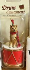 Finnish Spitz Dog Christmas Ornament Drum Gift New