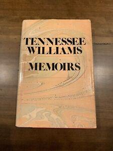 TENNESSEE WILLIAMS - MEMOIRS - 1975 HC/DJ - First Edition
