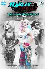 HARLEY QUINN 25th ANNIVERSARY SPECIAL 1 NATALI SANDERS  B&W VARIANT PRE-SALE 9/6