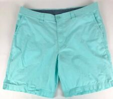 Columbia Men's 100% Cotton Teal Outdoor Hiking Shorts Size 38
