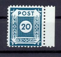 SBZ 48 DII a Postmeistertrennung Coswig postfrisch geprüft (lr416)