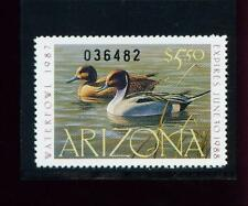Arizona State Duck Stamp 1987 $5.50   at face value