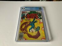GHOST RIDER 78 CGC 9.4 WHITE PAGES AWESOME COVER NIGHTMARE MARVEL COMICS 1983