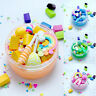 Rainbow Toy Slime Fruit Clay Candy Floam Fluffy Sludge Scented Cloud Mud