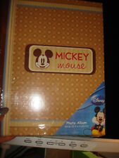 MICKEY MOUSE PHOTO ALBUM  NWT
