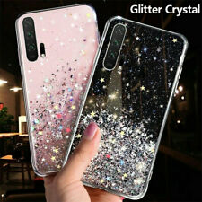 For Huawei Nova 4 5 5i Pro 5T 6 SE Glitter Crystal Silicone Gel Back Case Cover