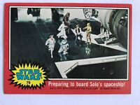1977 Topps Star Wars Series 2 Red #79 Preparing To Board Solo's Spaceship EX/MT