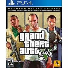 Grand Theft Auto V Premium Online Edition PlayStation 4 - PS4 Supported - ESRB R