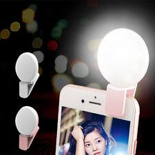 Universal Mini autofoto clip flash LED luz relleno Teléfono Móvil Gran Angular