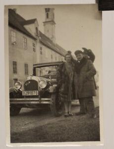 altes org. Foto Auto Chrysler   PULLMANN-LIMOUSINE mit Wimpel um 1920