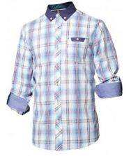 Mish Mash Red Blue Check Maximo Shirt £24.99 rrp £50 **Free Postage**