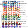 Polyhedral DnD Mixed Color Dice 7pcs/Set for RPG DnD Board Games