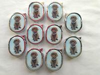 10 x Brown Labrador Gas Lighters - Wholesale/Job Lot/Bulk - Free UK Postage