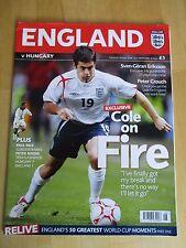 England Vs Hungary International Football Friendly Old Trafford 30 May 2006