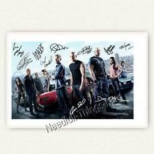 Fast & Furious 6 - Cast mit Paul Wakker, Vin Diesel ..  Autogrammfoto [AK2] 
