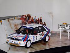DIORAMA LANCIA DELTA HF MARTINI #6 WINNER MONTE CARLO 1987 SKID SMC015 1:43