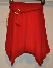 NWT Speechless Red Skirt Girl's size 6