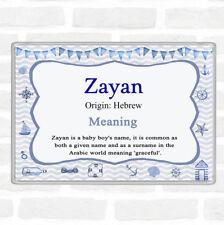 Aimant de r/éfrig/érateur I Love Zayan Cadeau pr/énom pour gar/çon