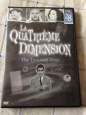 la quatrième dimension DVD volume 28  3 épisodes la série mythique années 60 !