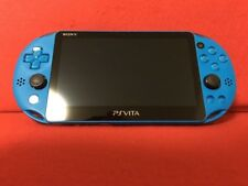 USED PlayStation Vita Wi-Fi Model Aqua Blue (PCH-2000ZA23) only console F/S