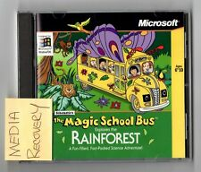 THE MAGIC SCHOOL BUS- explores the Rainforest WINDOWS PC