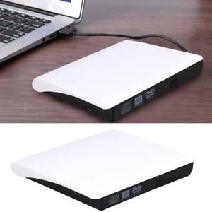 Lecteur CD DVD Externe,USB 3.0 Portable Graveur et Lecteur de CD-RW/DVD-RW
