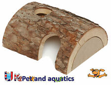 Natural Wooden Home Hide for Hamster & Small Rodents