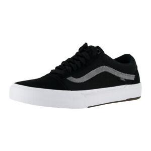 """Vans """"BMX Old Skool"""" Sneakers (Black/Grey/White) Casual Bike Shoes"""