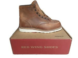 Red Wing Heritage Men's Classic 1907 6-Inch Moc Toe Boot - Copper Rough & Tough
