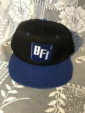 Vintage Snapback Trucker Hat Cap BFI Browning Ferris Industries Waste Management