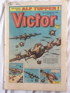 Victor #1378 18/7/87 Tough At The Top, Crimebuster Crag, DC Thompson UK Comic