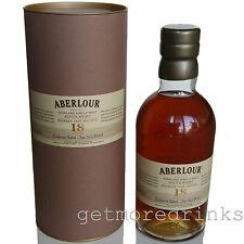 ABERLOUR 18 Jahre BOURBON CASK Exclusive Batch No. Single Malt Scotch Whisky 43%