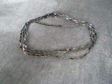925 Sterling silver diamond cut Serpentina chain, 18 inches long, weighs 2.4 gra