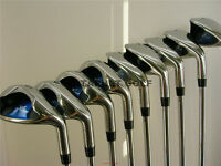 LEFT HANDED GOLF CLUBS NEW GRAPHITE WIDE SOLE IBRID STIFF LH IRON SET IRONS CLUB