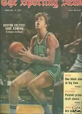 Dave Cowens cover Sporting News 1972 Boston Celtics