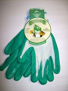 "Green ""Weeders"" Garden Gloves  (EXTRA LARGE)  by Garden Works"