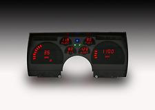 ¡91-92 panel digital de la rociada de Camaro en LEDs rojos brillantes!