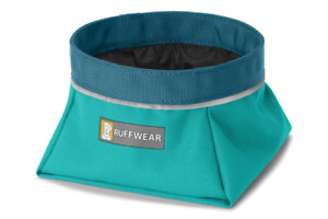 Ruffwear Dog Bowl Quencher Colapsable Lightweight Food and Water Dog Bowl
