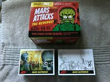 2017 Topps Mars Attacks The Revenge! 110-Card Base Set + Collector Box